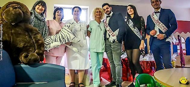 Bastia : Des jouets pour les patients du service de pédiatrie de l'hôpital