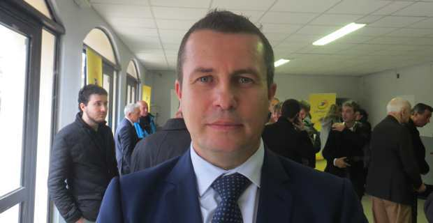 Sébastien Cecchi, sous-préfet de Corte.