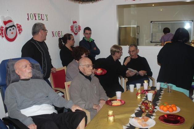 Noël à l'Unité de soins de Longue Durée au CH de Calvi-Balagne