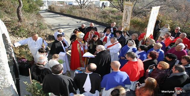 Célébration de Sainte-Lucie, Sainte patronne de Ciamannacce, et inauguration de la source Santa Lucia