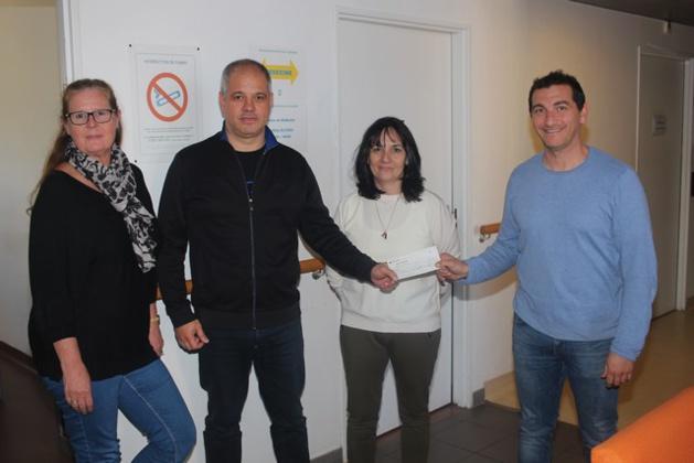 Un chèque de 3000 € pour le Centre Hospitalier Calvi-Balagne