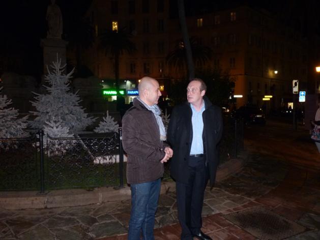 Place Foch à Ajaccio : La fontaine ressuscitée…