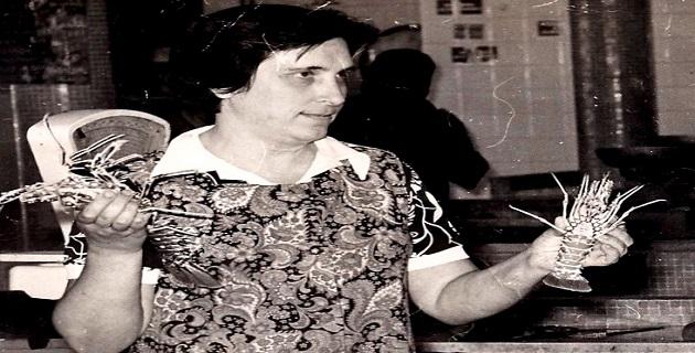 Mathéa D'Orazio, doyenne des vendeuses de poissons de la Halle Ajaccienne, n'est plus