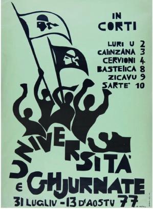 Ghjiseppu Orsolini / Fondu Carlu Castellani / 1977 / 46 x 64cm