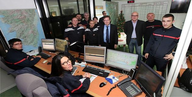 La continuité du service public, garantie de sécurité pour la population, saluée par le préfet de Corse à Ajaccio