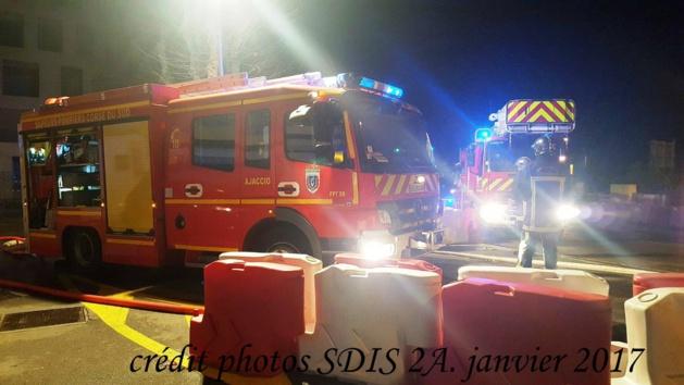 Incendie dans une salle de sport à Ajaccio