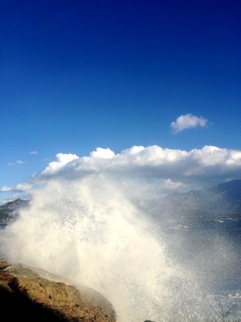 Calvi entre ciel, mer et montagne !