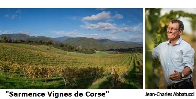 « Sarmance Vignes de Corse » trouve son origine au cœur du domaine Comte Abbatucci dans la vallée du Taravo