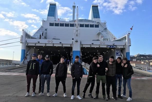 """La section professionnelle """"Maintenance Nautique"""" du lycée de Balagne à Bastia"""