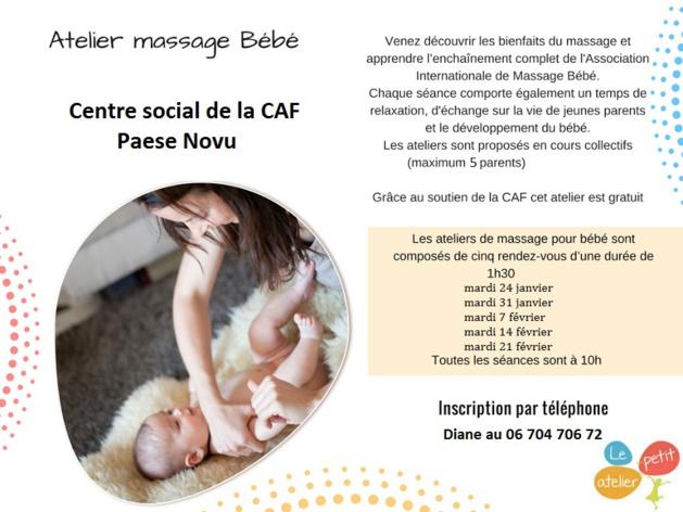 Bastia : Tous les bienfaits des massages pour bébé en cinq séances