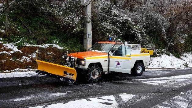 Les réserves communales de Haute-Corse se mobilisent face au risque de neige et verglas