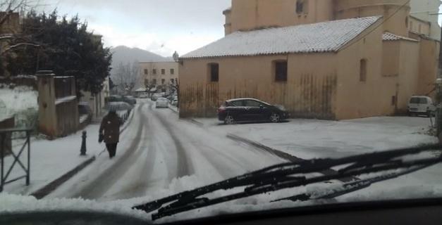 A Calenzana ce matin