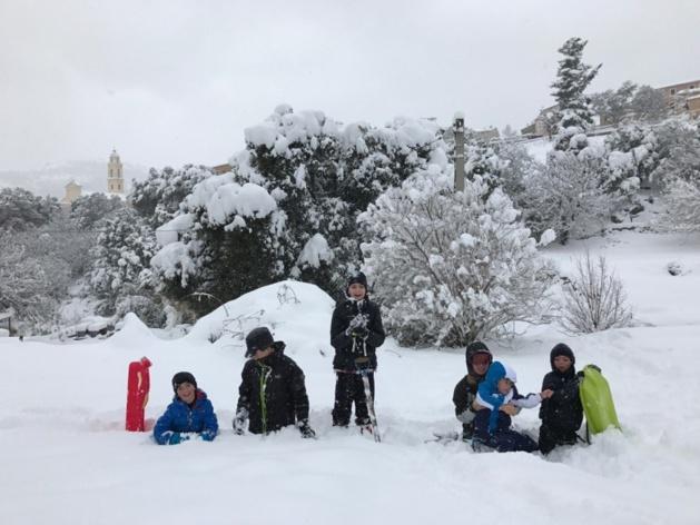 70 cm de neige dans le Giussani, la Balagne grelotte…
