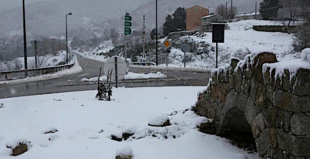 Croneca : A Corsica tutta bianca !