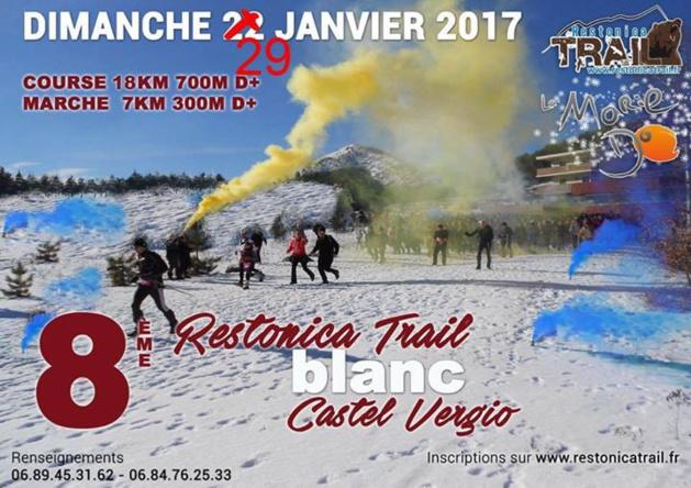 Trail : Report du Trail Blanc de Vergio en raison des conditions climatiques