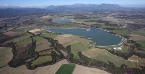 Lac de barrage de Teppe Rosse.