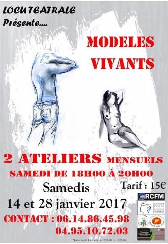 Ajaccio : Ateliers libres de modèles vivants