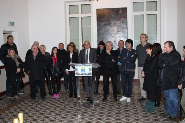 Les voeux de François Marchetti, président de la Communauté de Communes Calvi-Balagne