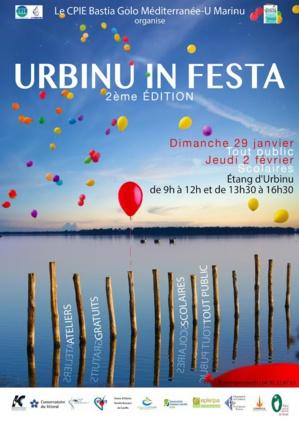 2 ème édition d'Urbinu in festa dimanche 29 janvier et jeudi 2 février prochains.
