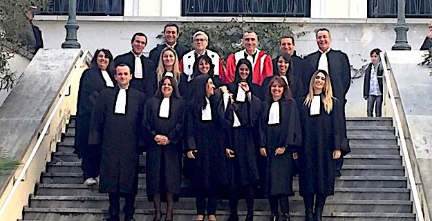 10 nouveaux avocats ont prêté serment devant la cour d'appel de Bastia