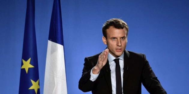 Soutien à Emmanuel Macron