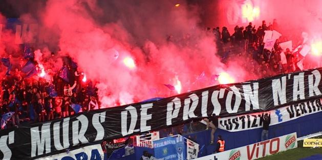 Fermeture de la tribune Petrigani pour 2 matches