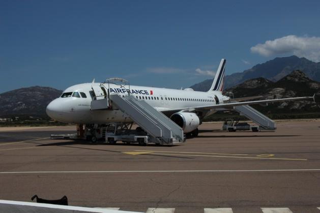 Le comptoir Air France à l'aéroport Calvi-Balagne devrait fermer avant la saison estivale