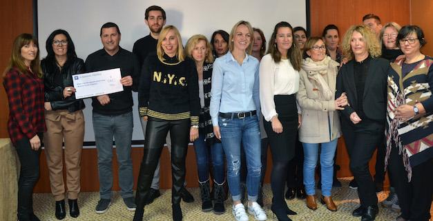 Le Centre financier d'Ajaccio fait un don  de 1 375 euros à la Mission Locale
