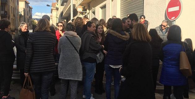Ajaccio : Rassemblement de soutien pour l'instituteur placé en détention provisoire