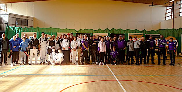 Succès pour le concours départemental de tir à l'arc indoor à Calvi