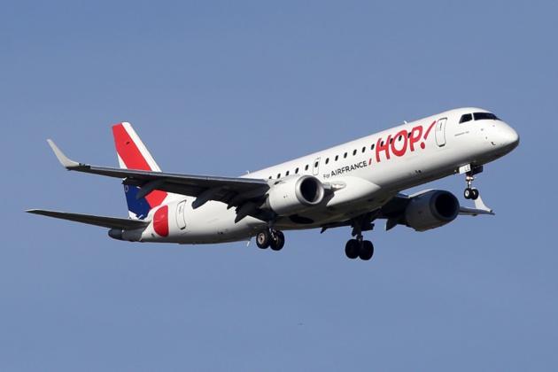 Transports aériens : Hop ! relie Toulouse à la Corse