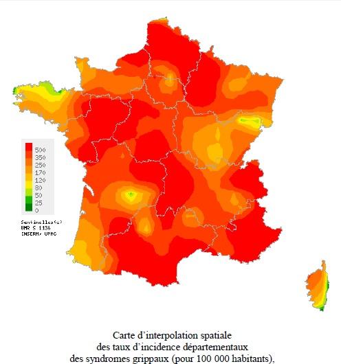 Grippe : Recul de l'activité en Corse