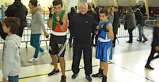 Thomas BROCARD a combattu en catégorie cadet 1 en moins de 68 kg