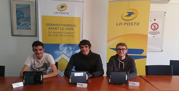 Pascal, Pierre-Jean et Brice ont bénéficié de ce nouveau dispositif
