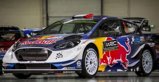 La nouvelle Ford Fiesta de Sébastien Ogier