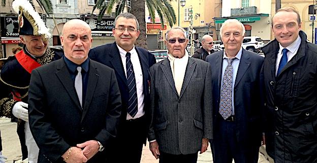 Ajaccio : André Fiori succède à Jean-François Colonna d'Istria à la présidence de la société de la Légion d'honneur