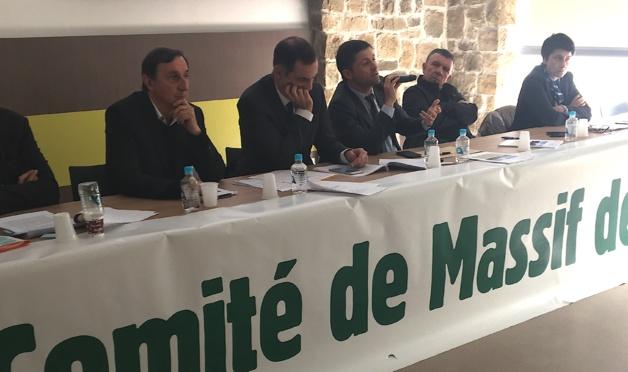 Réunion du Comité de Massif de Corse à Evisa : La première pierre a été posée