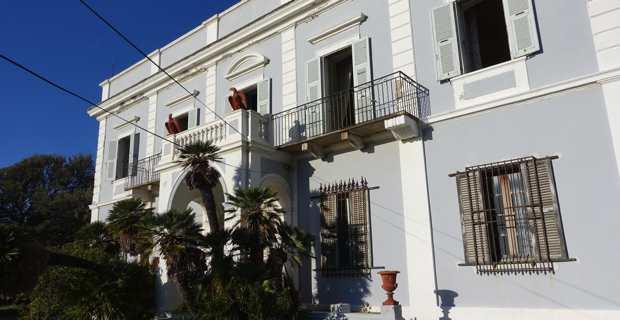 Le chateau Stopielle, hameau de Canelle, à Centuri, dans le Cap Corse.