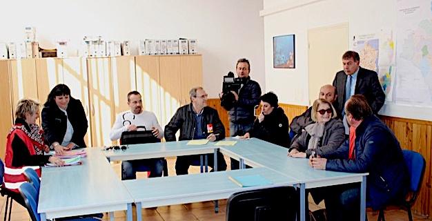 Fermeture du comptoir Air-France : Une délégation reçue à la sous-préfecture de Calvi