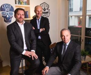 Eric Léandri, Président, Alberto Chalon, Directeur général et Jean-Manuel Rozan, Vice-Président