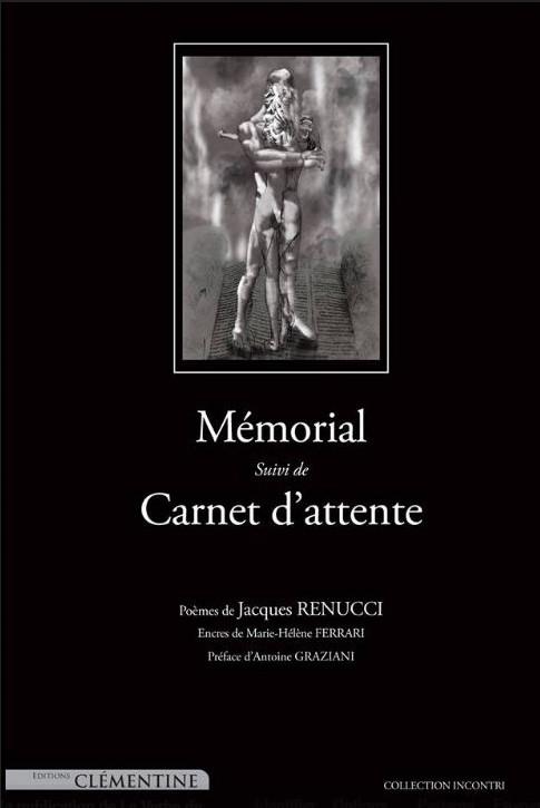 « Mémorial », le nouveau recueil de Jacques Renucci
