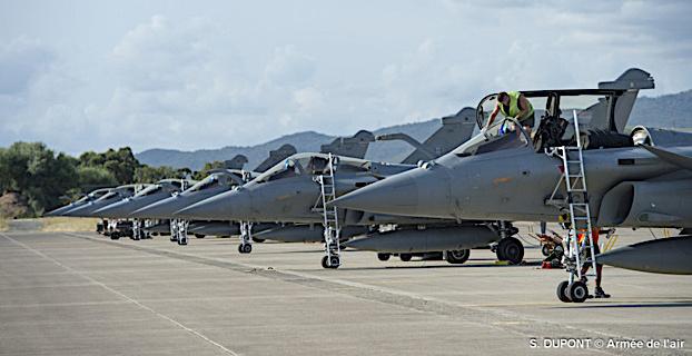 BA 126 de Solenzara : Les activités opérationelles reprennent