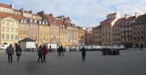 Le vieux quartier de Varsovie.