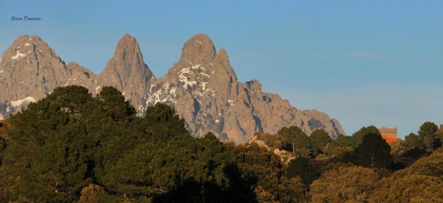 Alta Rocca : Quenza village masqué