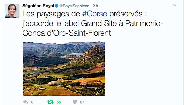 Patrimoniu-Conca d'Oru-San-Fiurenzu et Sanguinaires-La Parata : Grands sites de France !