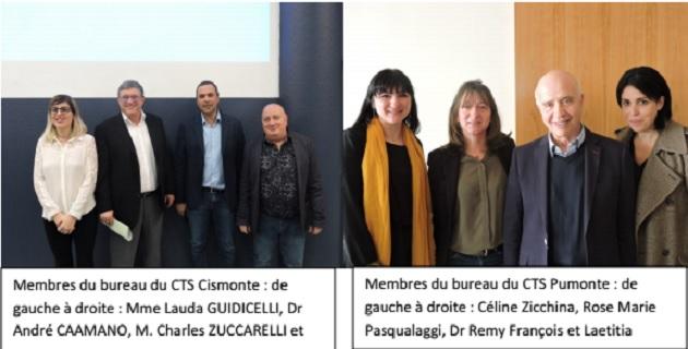 Les conseils territoriaux de santé du Pumonte et du Cismonte installés