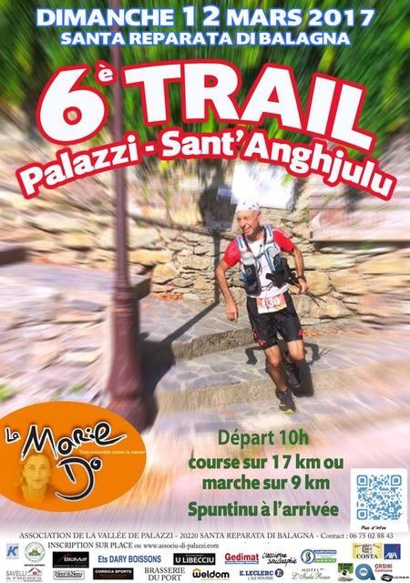 Santa Reparata di Balagna : Dimanche, le 6e trail Palazzi-Sant'Anghjulu