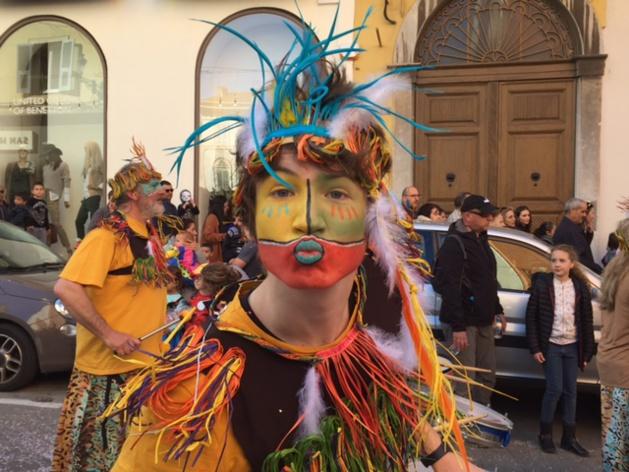 À Bastia, le carnaval a fait danser la ville