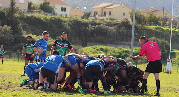 Bastia XV battu (5-36) : Logique respectée à Vulpaghju
