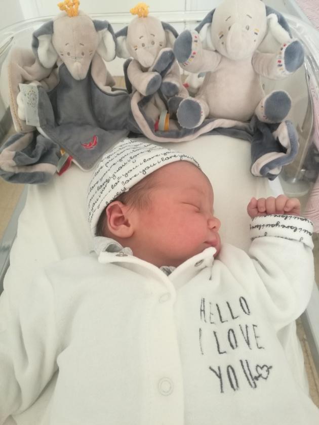 Bastia : Théo, 3,972 kg à la naissance